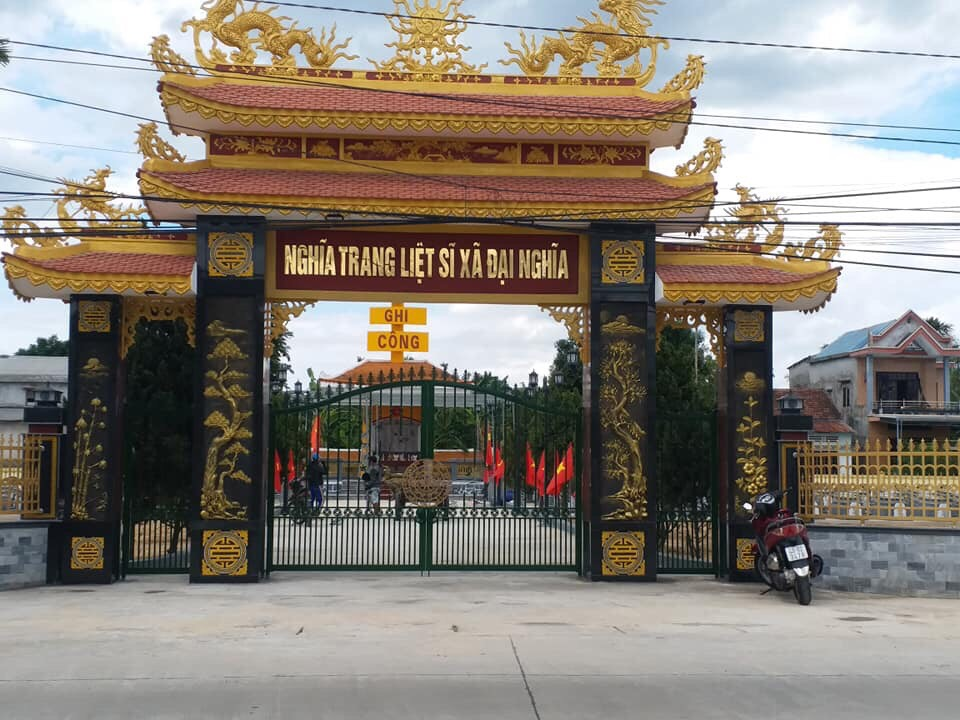 DMT Group : Khánh thành công trình trùng tu Nghĩa trang Liệt sĩ Xã Đại Nghĩa - Huyện Đại Lộc - Quảng Nam